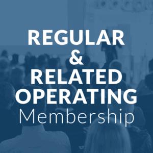 regular related operating membership - blue