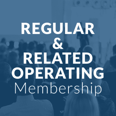 regular related operating membership - blue