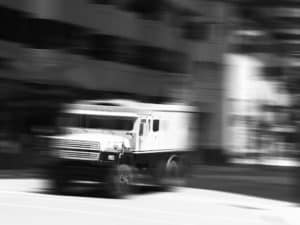 Armored Truck - Blurred