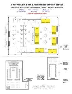 2018 meeting exhibit floor plan