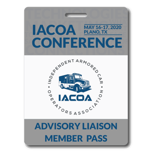 Advisory Liaison Conference Pass Badge - 2020 - Plano, TX