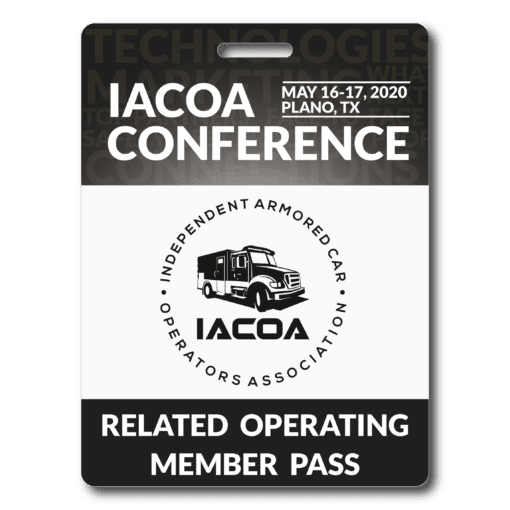 Related Operating Member Conference Pass Badge - 2020 - Plano, TX
