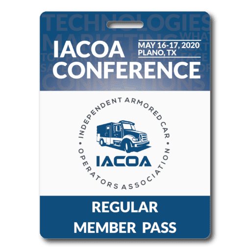 Regular Conference Pass Badge - 2020 - Plano, TX